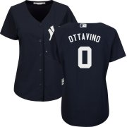 Wholesale Cheap Yankees #0 Adam Ottavino Navy Women's Cool Base Stitched MLB Jersey