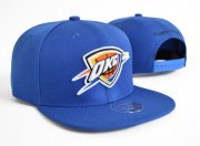 Wholesale Cheap NBA Oklahoma City Thunder Snapback Ajustable Cap Hat XDF 049