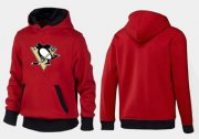 Wholesale Cheap Pittsburgh Penguins Pullover Hoodie Red & Black