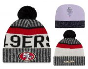 Wholesale Cheap NFL San Francisco 49ers Logo Stitched Knit Beanies 014