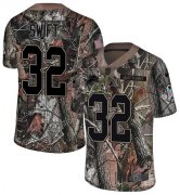 Wholesale Cheap Nike Lions #32 D'Andre Swift Camo Youth Stitched NFL Limited Rush Realtree Jersey