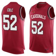Wholesale Cheap Nike Cardinals #52 Mason Cole Red Team Color Men's Stitched NFL Limited Tank Top Jersey