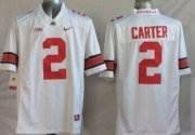 Wholesale Cheap Ohio State Buckeyes #2 Cris Carter 2014 White Limited Jersey