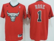 Wholesale Cheap Chicago Bulls #1 Derrick Rose Revolution 30 Swingman 2013 Christmas Day Red Jersey