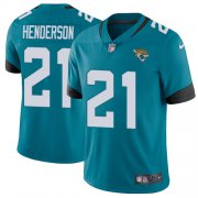 Wholesale Cheap Nike Jaguars #21 C.J. Henderson Teal Green Alternate Youth Stitched NFL Vapor Untouchable Limited Jersey