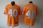 Wholesale Cheap Buccaneers #40 Mike Alstott Yellow Stitched NFL Jersey