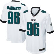 Wholesale Cheap Nike Eagles #96 Derek Barnett White Youth Stitched NFL New Elite Jersey
