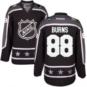 Wholesale Cheap Sharks #88 Brent Burns Black 2017 All-Star Pacific Division Stitched Youth NHL Jersey