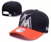 Wholesale Cheap Mariners Team Logo Black Orange Adjustable Hat GS