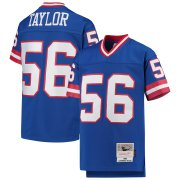 Wholesale Cheap Youth New York Giants #56 Lawrence Taylor Mitchell & Ness Royal 1986 Legacy Retired Player Jersey