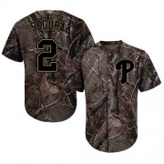 Wholesale Cheap Phillies #2 Jean Segura Camo Realtree Collection Cool Base Stitched MLB Jersey