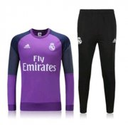 Wholesale Cheap Real Madrid Purple Soccer Suit