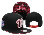 Wholesale Cheap MLB Washington Nationals Snapback Ajustable Cap Hat