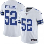Wholesale Cheap Nike Cowboys #52 Connor Williams White Men's Stitched NFL Vapor Untouchable Limited Jersey