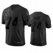 Wholesale Cheap Las Vegas Raiders #74 Kolton Miller Black Vapor Limited City Edition NFL Jersey