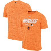 Wholesale Cheap Baltimore Orioles Nike Authentic Collection Velocity Team Issue Performance T-Shirt Orange