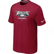 Wholesale Cheap Nike Philadelphia Eagles Big & Tall Critical Victory NFL T-Shirt Red