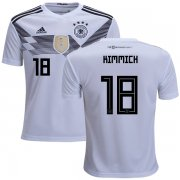 Wholesale Cheap Germany #18 Kimmich White Home Kid Soccer Country Jersey