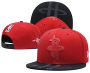 Wholesale Cheap Houston Rockets Snapback Ajustable Cap Hat GS
