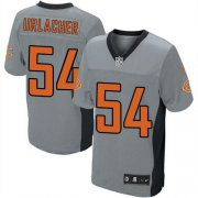 Wholesale Cheap Nike Bears #54 Brian Urlacher Grey Shadow Youth Stitched NFL Elite Jersey