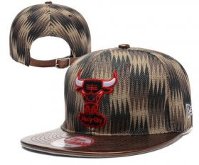 Wholesale Cheap NBA Chicago Bulls Snapback Ajustable Cap Hat YD 03-13_72