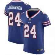 Wholesale Cheap Nike Bills #24 Taron Johnson Royal Blue Team Color Men's Stitched NFL Vapor Untouchable Elite Jersey