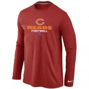 Wholesale Cheap Nike Atlanta Falcons Critical Victory Long Sleeve T-Shirt Red
