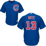 Wholesale Cheap Cubs #13 David Bote Blue New Cool Base Stitched MLB Jersey