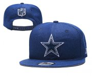 Wholesale Cheap Cowboys Team Logo Blue Adjustable Hat YD