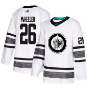 Wholesale Cheap Adidas Jets #26 Blake Wheeler White Authentic 2019 All-Star Stitched Youth NHL Jersey