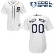 Wholesale Cheap Tigers Personalized Authentic White MLB Jersey (S-3XL)