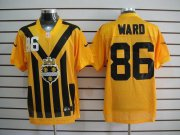 Wholesale Cheap Nike Steelers #86 Hines Ward Gold 1933s Throwback Men's Embroidered NFL Elite Jersey