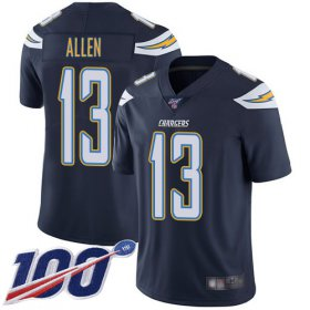 Wholesale Cheap Nike Chargers #13 Keenan Allen Navy Blue Team Color Men\'s Stitched NFL 100th Season Vapor Limited Jersey