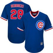 Wholesale Cheap Cubs #28 Kyle Hendricks Blue Flexbase Authentic Collection Cooperstown Stitched MLB Jersey