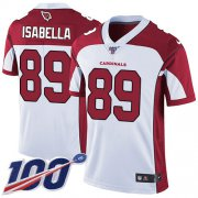 Wholesale Cheap Nike Cardinals #89 Andy Isabella White Men's Stitched NFL 100th Season Vapor Limited Jersey