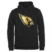 Wholesale Cheap Men's Arizona Cardinals Pro Line Black Gold Collection Pullover Hoodie