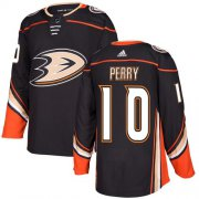 Wholesale Cheap Adidas Ducks #10 Corey Perry Black Home Authentic Youth Stitched NHL Jersey