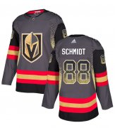 Wholesale Cheap Adidas Golden Knights #88 Nate Schmidt Grey Home Authentic Drift Fashion Stitched NHL Jersey