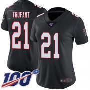 Wholesale Nike Falcons #12 Mohamed Sanu Sr White/Pink Super Bowl LI 51 Women's Stitched NFL Limited Rush Fashion Jersey