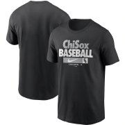 Wholesale Cheap Chicago White Sox Nike Local Nickname T-Shirt Black