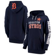 Wholesale Cheap Houston Astros G-III 4Her by Carl Banks Women's Extra Innings Pullover Hoodie Navy