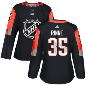 Wholesale Cheap Adidas Predators #35 Pekka Rinne Black 2018 All-Star Central Division Authentic Women\'s Stitched NHL Jersey