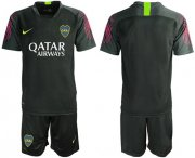 Wholesale Cheap Boca Juniors Blank Black Goalkeeper Soccer Club Jersey