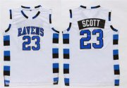 Wholesale Cheap One Three Hill 23 Scott White Stitched Jersey