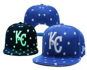 Wholesale Cheap MLB Kansas City Royals Snapback Ajustable Cap Hat