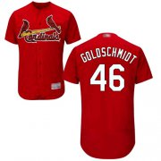 Wholesale Cheap Cardinals #46 Paul Goldschmidt Red Flexbase Authentic Collection Stitched MLB Jersey