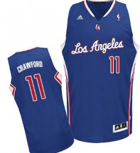 Wholesale Cheap Los Angeles Clippers #11 Jamal Crawford Blue Swingman Jersey