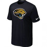 Wholesale Cheap Nike Jacksonville Jaguars Sideline Legend Authentic Logo Dri-FIT NFL T-Shirt Black