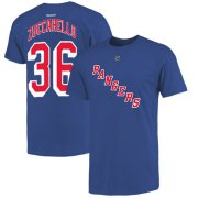 Wholesale Cheap New York Rangers #36 Mats Zuccarello Reebok Name and Number Player T-Shirt Royal