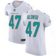 Wholesale Cheap Nike Dolphins #47 Kiko Alonso White Men's Stitched NFL Vapor Untouchable Elite Jersey
